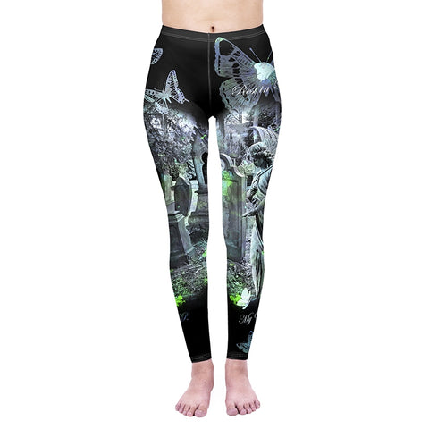 Tombstone Regular Leggings-Wholesale Women's Leggings, Wholesale Plus Size , Wholesale Fashion Clothing