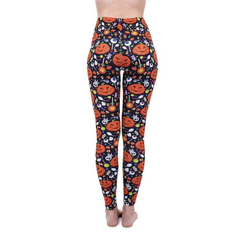 Happy Pumpkin Regular Leggings