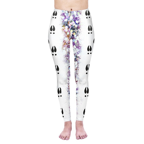 Follow Me Rudolf Regular Leggings-Wholesale Women's Leggings, Wholesale Plus Size , Wholesale Fashion Clothing