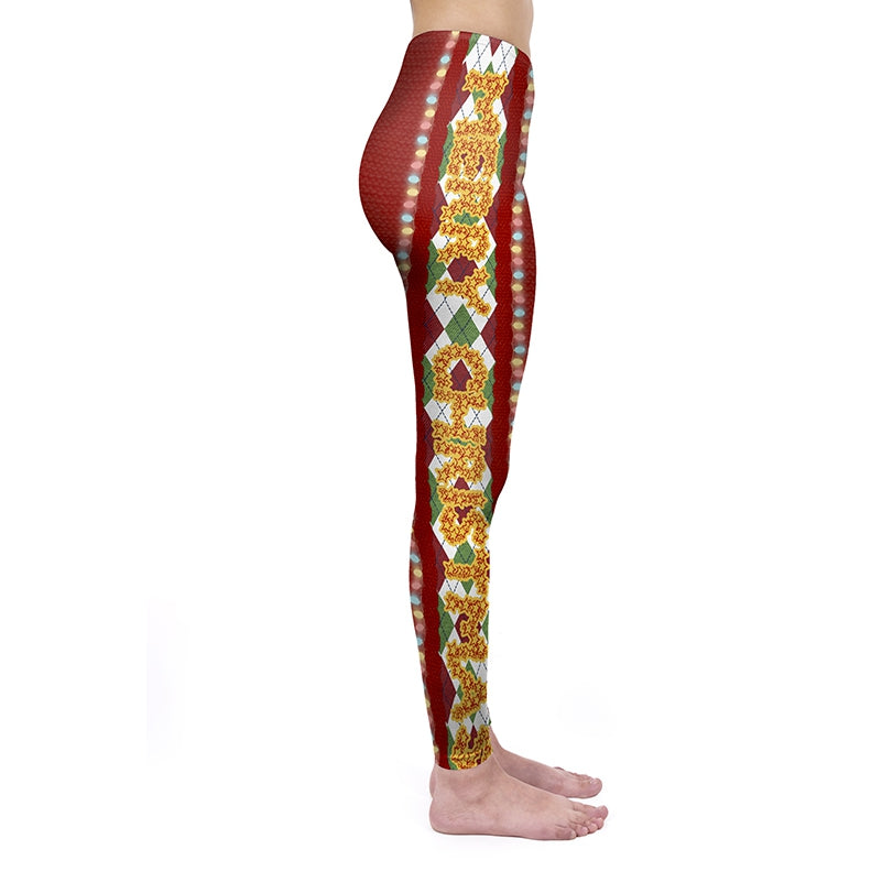 Merry Christmas Regular Leggings