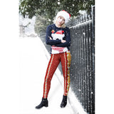 Merry Christmas Regular Leggings-Wholesale Women's Leggings, Wholesale Plus Size , Wholesale Fashion Clothing