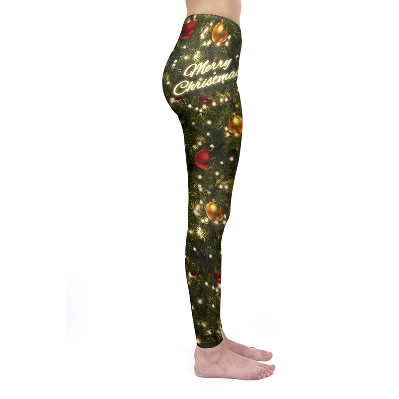 Christmas Tree Regular Leggings