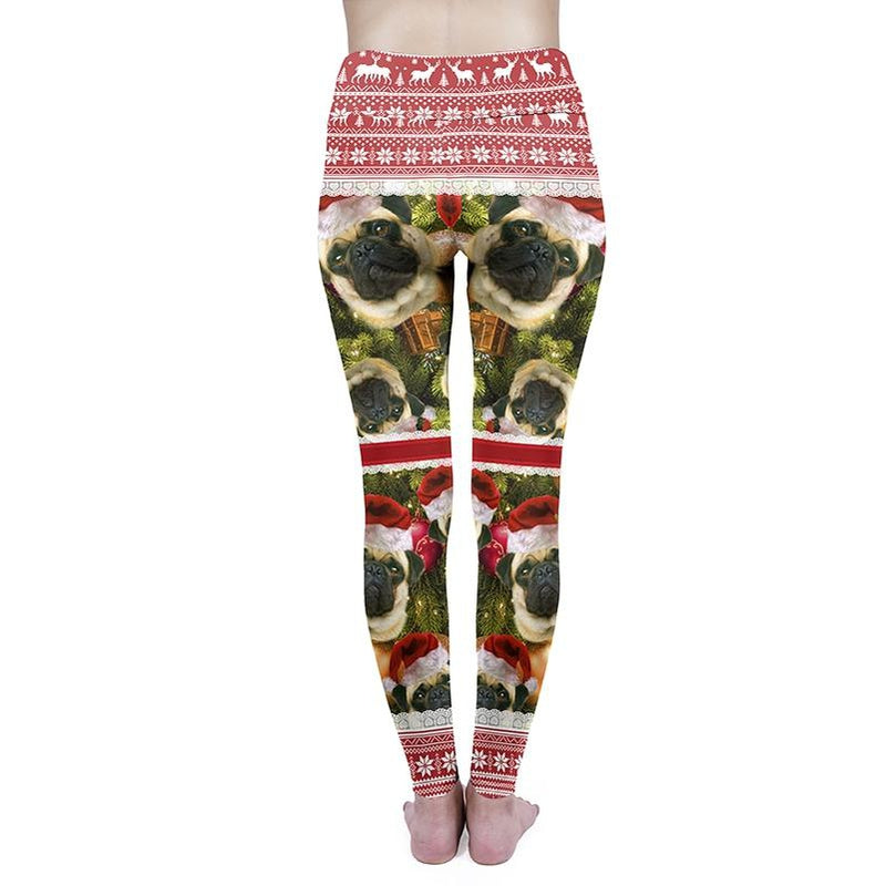 Pugmas High Waisted Leggings