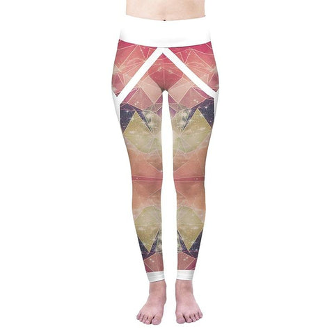 Active Poly Cosmos High Waisted Leggings-Wholesale Women's Leggings, Wholesale Plus Size , Wholesale Fashion Clothing