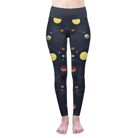 Blue Planet High Waisted Leggings-Wholesale Women's Leggings, Wholesale Plus Size , Wholesale Fashion Clothing