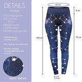 Starry Sky High Waisted Leggings-Wholesale Women's Leggings, Wholesale Plus Size , Wholesale Fashion Clothing