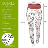 Find Face High Waisted Leggings-Wholesale Women's Leggings, Wholesale Plus Size , Wholesale Fashion Clothing