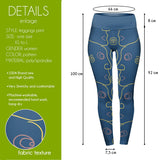 Secret Face High Waisted Leggings-Wholesale Women's Leggings, Wholesale Plus Size , Wholesale Fashion Clothing
