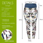 Handy Face High Waisted Leggings-Wholesale Women's Leggings, Wholesale Plus Size , Wholesale Fashion Clothing