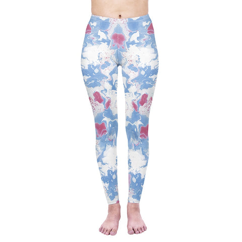 Marble Skies Regular Leggings-Wholesale Women's Leggings, Wholesale Plus Size , Wholesale Fashion Clothing