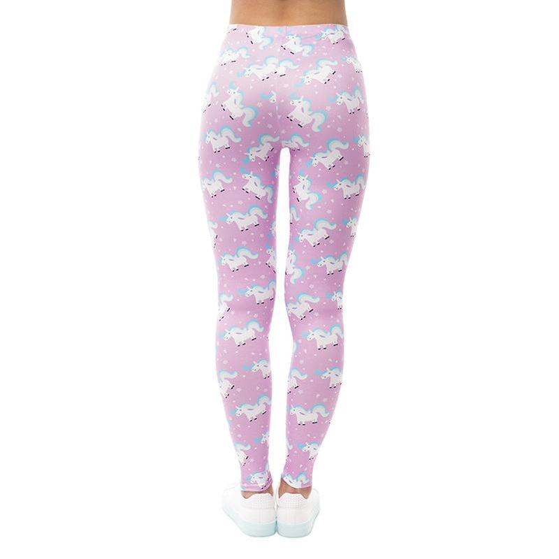 Unicorn Life Rose Regular Leggings.