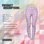 Unicorn Life Rose Regular Leggings.-Wholesale Women's Leggings, Wholesale Plus Size , Wholesale Fashion Clothing