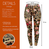 Leopard And Snakes Regular Leggings-Wholesale Women's Leggings, Wholesale Plus Size , Wholesale Fashion Clothing