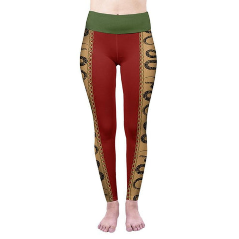 Snakes High Waisted Leggings-Wholesale Women's Leggings, Wholesale Plus Size , Wholesale Fashion Clothing