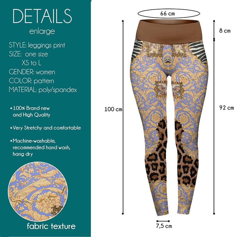 Wild Frames High Waisted Leggings-Wholesale Leggings UK- Wholesale Women's Clothing- Kukubird Creative Studio