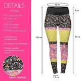 Colour Ditsy High Waisted Leggings-Wholesale Women's Leggings, Wholesale Plus Size , Wholesale Fashion Clothing