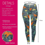 Friendly Dinosaur Regular Leggings-Wholesale Leggings UK- Wholesale Women's Clothing- Kukubird Creative Studio