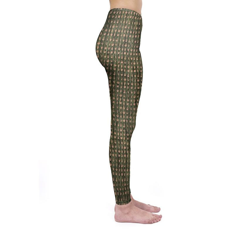 Footprints Regular Leggings