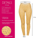 Simple Lime Drawing Regular Leggings-Wholesale Women's Leggings, Wholesale Plus Size , Wholesale Fashion Clothing