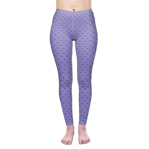 Purple X-Rays Regular Leggings-Wholesale Leggings UK- Wholesale Women's Clothing- Kukubird Creative Studio