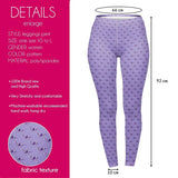 Purple X-Rays Regular Leggings-Wholesale Women's Leggings, Wholesale Plus Size , Wholesale Fashion Clothing
