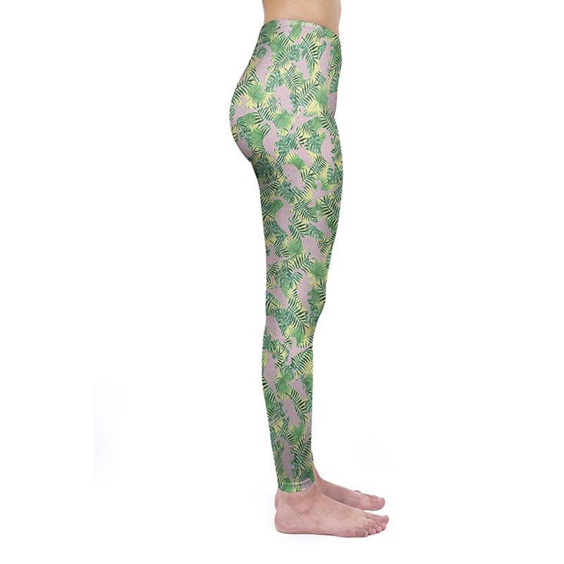Tropical Dinosaurs Regular Leggings
