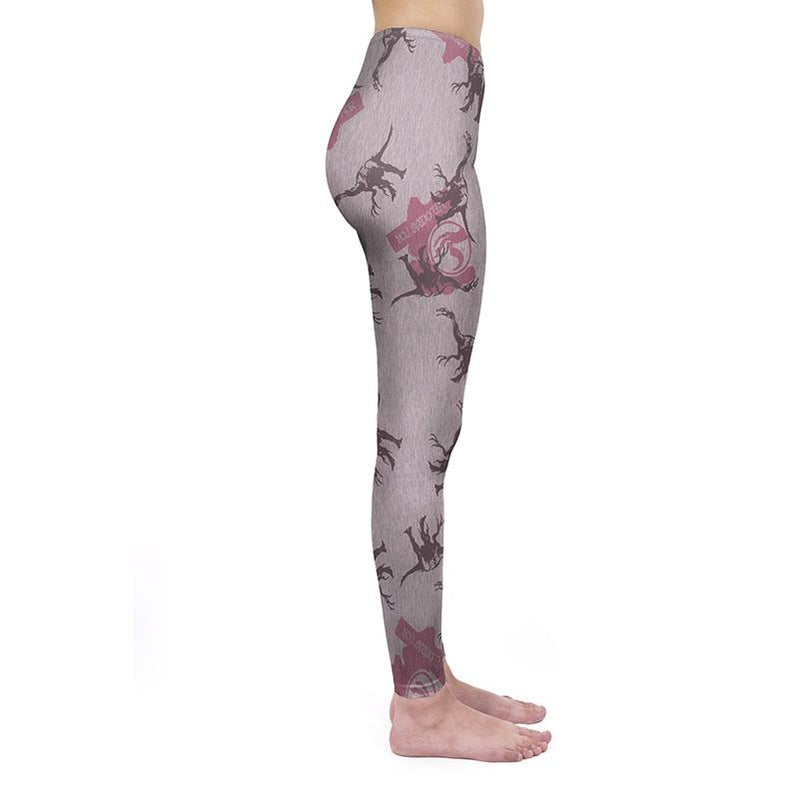 Jurassic Velociraptor Regular Leggings