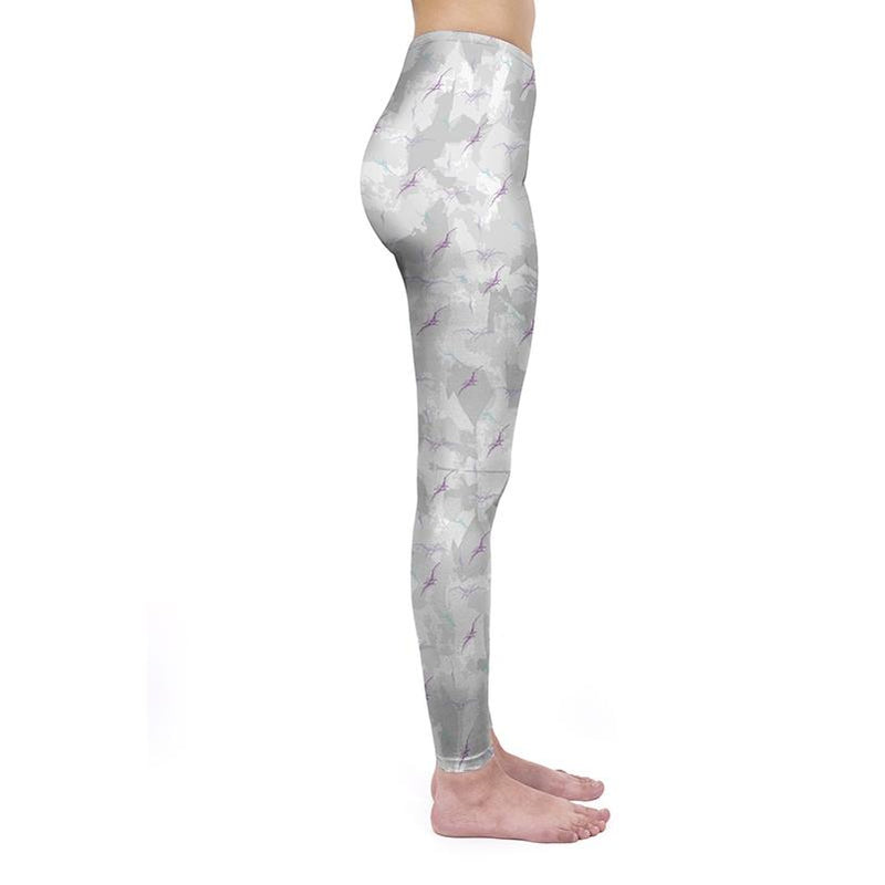 Pterodactyl Camo Regular Leggings