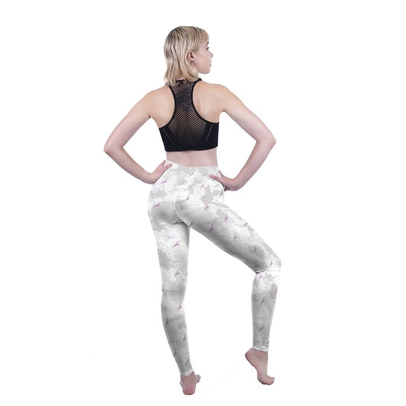 Pterodactyl Camo Regular Leggings-Wholesale Leggings UK- Wholesale Women's Clothing- Kukubird Creative Studio