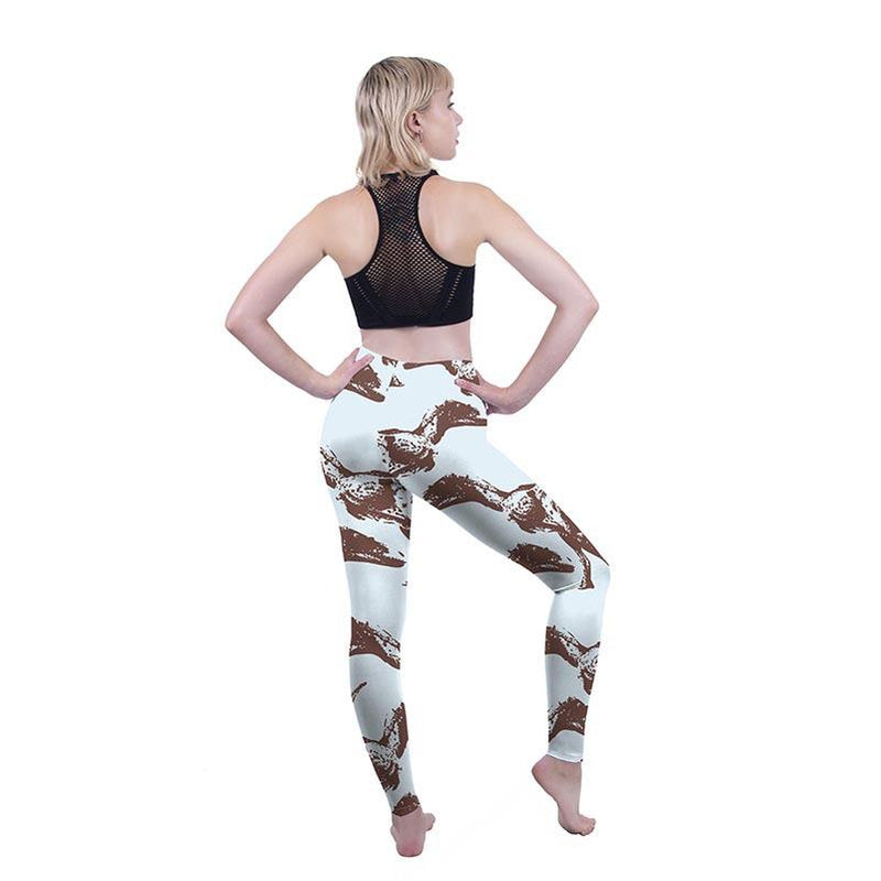 Walking with Dino's Regular Leggings-Wholesale Leggings UK- Wholesale Women's Clothing- Kukubird Creative Studio