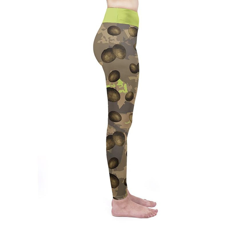 Dino Eggs High Waisted Leggings