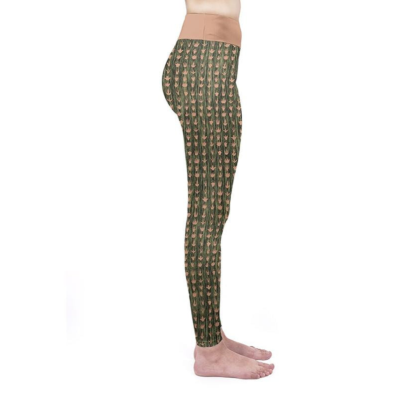 Footprint High Waisted Leggings