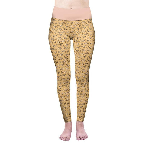 Origami High Waisted Leggings-Wholesale Women's Leggings, Wholesale Plus Size , Wholesale Fashion Clothing