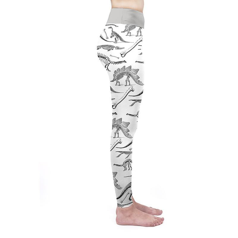 Dino Bones High Waisted Leggings