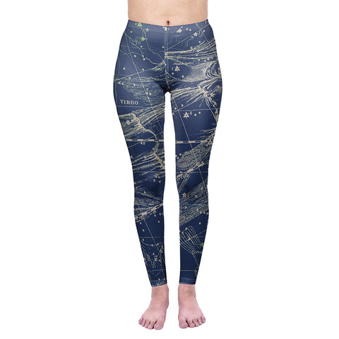 Virgo Regular Leggings-Wholesale Women's Leggings, Wholesale Plus Size , Wholesale Fashion Clothing