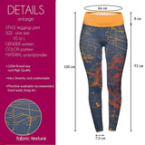 Aries High Waisted Leggings-Wholesale Women's Leggings, Wholesale Plus Size , Wholesale Fashion Clothing