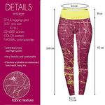 Sagittarius High Waisted Leggings-Wholesale Women's Leggings, Wholesale Plus Size , Wholesale Fashion Clothing