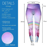 Rainbow Llama High Waisted Leggings-Wholesale Women's Leggings, Wholesale Plus Size , Wholesale Fashion Clothing