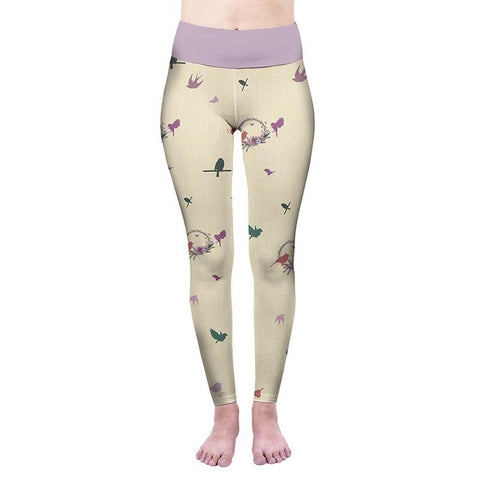 Birdies High Waisted Leggings-Wholesale Women's Leggings, Wholesale Plus Size , Wholesale Fashion Clothing