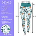 Foxy Loxy High Waisted Leggings-Wholesale Leggings UK- Wholesale Women's Clothing- Kukubird Creative Studio
