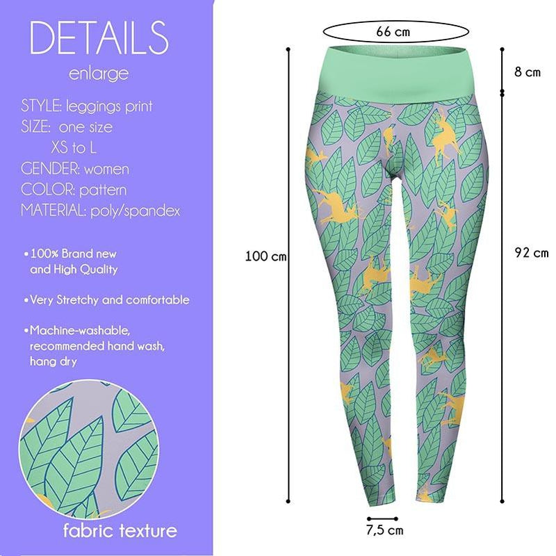 Oh Deary Me High Waisted Leggings-Wholesale Leggings UK- Wholesale Women's Clothing- Kukubird Creative Studio