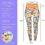 Raccoon And Friends High Waisted Leggings-Wholesale Women's Leggings, Wholesale Plus Size , Wholesale Fashion Clothing