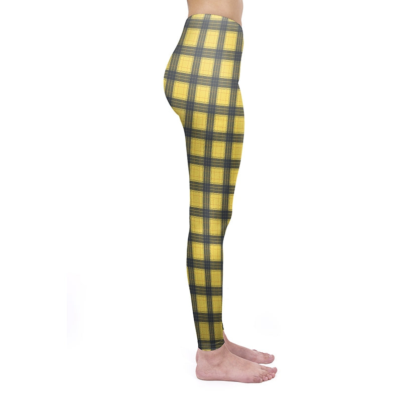 Clueless Yellow Regular Leggings