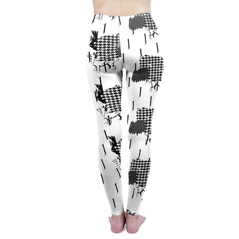 Houndstooth Regular Leggings