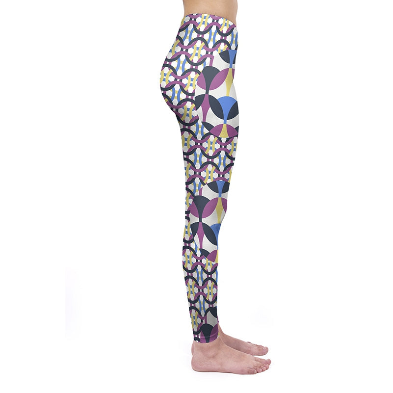 Linked Circle Regular Leggings
