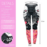 Love you to Death Regular Leggings-Wholesale Women's Leggings, Wholesale Plus Size , Wholesale Fashion Clothing