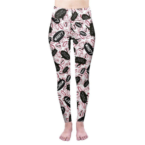 You Can't Sit With Us High Waisted Leggings-Wholesale Leggings UK- Wholesale Women's Clothing- Kukubird Creative Studio