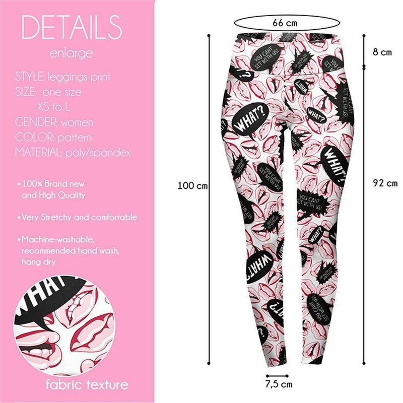 You Can't Sit With Us High Waisted Leggings-Kukubird Creative Studio