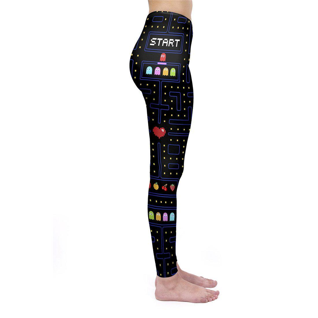Pac Attack  Regular Leggings