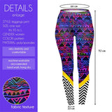 Tribal Pop Regular Leggings-Wholesale Women's Leggings, Wholesale Plus Size , Wholesale Fashion Clothing
